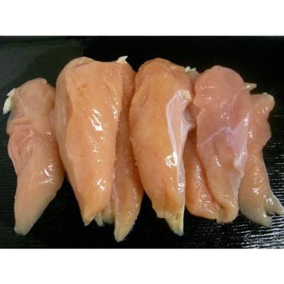 格安!!国産 若鶏のささみ(筋付) 業務用 2000g