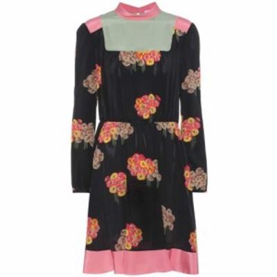 レッド ヴァレンティノ REDValentino レディース ワンピース ワンピース・ドレス Printed silk dress Black Print