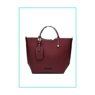 【新品】Dayfine Handbags for Women Tote Bag Fashion Satchel Purse Set Hobo Shoulder Bags PU Top Handle Structured Gift(並行輸入品)