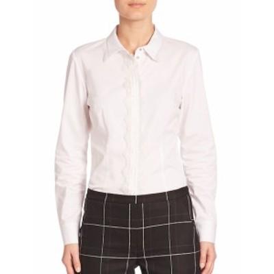 エリータハリ レディース トップス シャツ Alondra Lace-Trimmed Long Sleeve Shirt