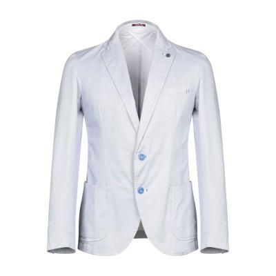 PAUL MIRANDA テーラードジャケット ブルー 48 コットン 100% テーラードジャケット