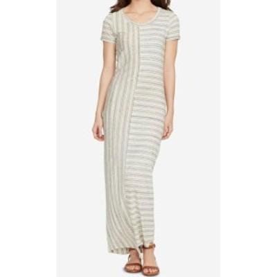William Rast ウィリアムラスト ファッション ドレス WILLIAM RAST Gray Womens Size Small S Striped T-Shirt Maxi Dress