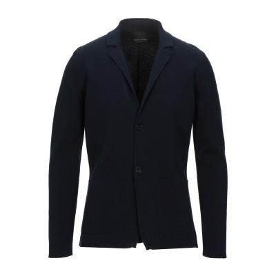 ロベルト コリーナ ROBERTO COLLINA テーラードジャケット ダークブルー 46 コットン 100% テーラードジャケット