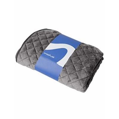 mofua(モフア) 敷きパッド セミダブル グレー あったか ふんわり エコテックス認証 静電気防止加工 プレミアムマイクロファイバー 洗える