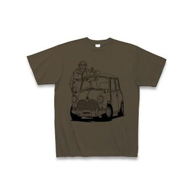 僕とMINI Tシャツ(オリーブ)