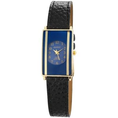 ジュエリー 腕時計 アクゼント AKZENT レディース 腕時計 FAUX レザー 腕時計 クォーツ CUTGLASS RECTANGULAR
