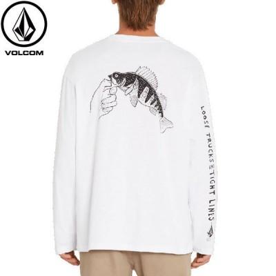 ボルコム VOLCOM tシャツ LOOSE TRUCKS White 長袖Tシャツ ロングスリーブ ロンT