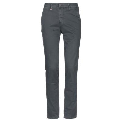 LIU •JO MAN パンツ 鉛色 44 コットン 97% / ポリウレタン 3% パンツ
