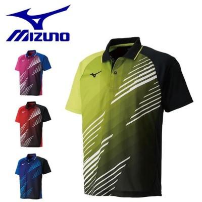 ミズノ メンズ レディース 卓球 シャツ 半袖 ゲームシャツ 吸汗速乾 日本卓球協会公認商品 ユニセックス 82JA9007 MIZUNO