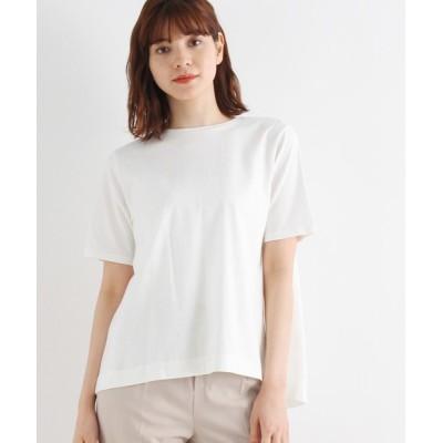 tシャツ Tシャツ ギザコットン後ろ開きプルオーバー