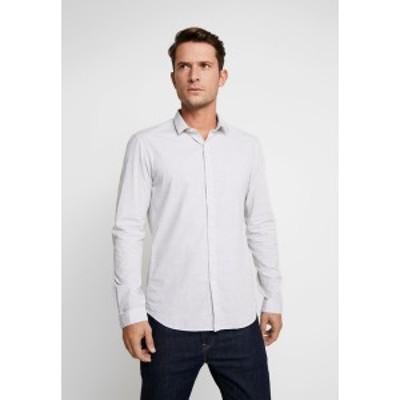 トムテイラーデニム メンズ シャツ トップス SPACE YARN SHIRT - Shirt - morning grey morning grey