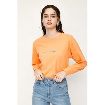 【スライ】 MELLOW L/S Tシャツ レディース オレンジ FREE SLY