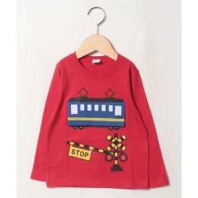 &rooms.(アンド ルームス)電車ロングTシャツ
