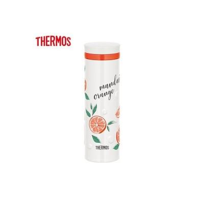 サーモス 0.5L 水筒 真空断熱ケータイマグ JNO-502G-ORWH オレンジホワイト