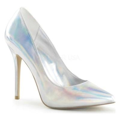 プリーザー サンダル シューズ レディース Amuse 20 (Women's) Silver Hologram Polyurethane