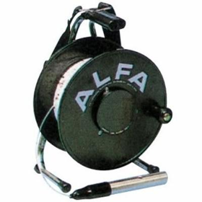 水位を電子音によってお知らせ アルファ ロープ式水位計 TYPE1-30B ブザー音、30m