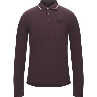 イーエーセブン EA7 メンズ ポロシャツ トップス polo shirt Deep purple