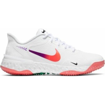 ナイキ レディース スニーカー シューズ Nike Alpha Huarache Elite 3 Turf Softball Shoes White/Blue/Red
