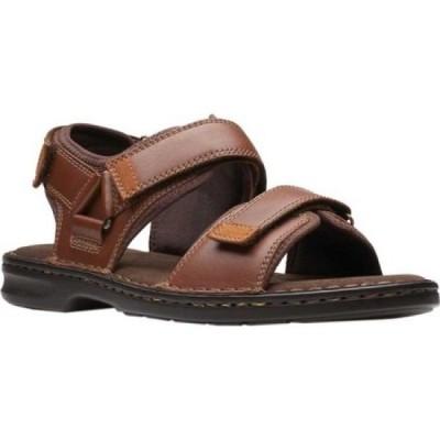 【残り1点!】【サイズ:8.5_M】クラークス Clarks メンズ シューズ・靴 サンダル malone shore walking sandal tan
