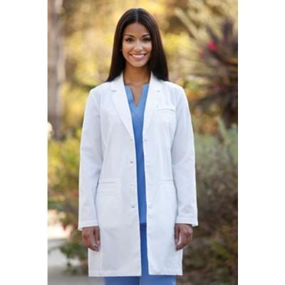BARCO OVER-PRO 27172モデル 女性用 米国メーカー 白衣 ドクターコート 医療用 医師用 ミドル丈