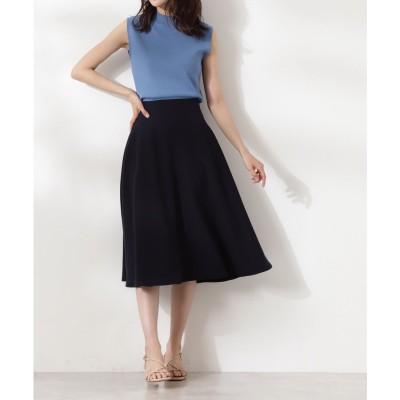 スモーキーフレアスカートⅢ《S Size Line》 ネイビー