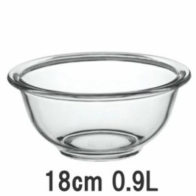 iwaki/イワキ 耐熱ガラス製ベーシックボウル 外径180mm  900ml (ボール) KBC322 7-0245-0803_ES