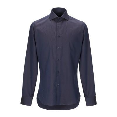 ALEA シャツ ダークブルー 40 コットン 100% シャツ