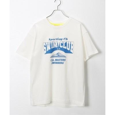 tシャツ Tシャツ 【CONICHIWA bonjour/コンニチハ ボンジュール】SWIMMING T