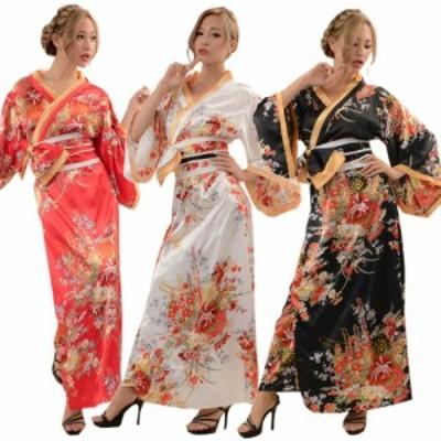花魁 コスプレ 着物ドレス 花魁 コスプレ衣装 よさこい衣装 送料無料 あすつく 花魁着物ロングドレス「サマーセールクーポン対象」