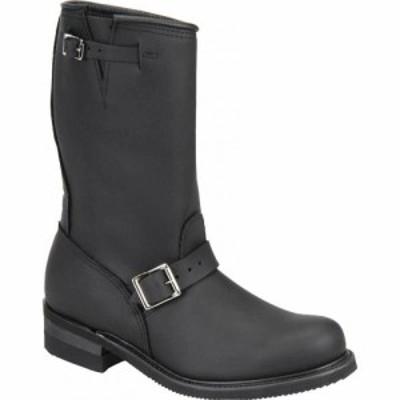 カロリナ Carolina メンズ ブーツ シューズ・靴 Domestic 12 Engineer 902 Black Leather