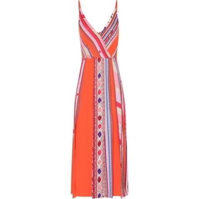 エミリオ プッチ Emilio Pucci レディース ワンピース ワンピース・ドレス Printed dress Orange