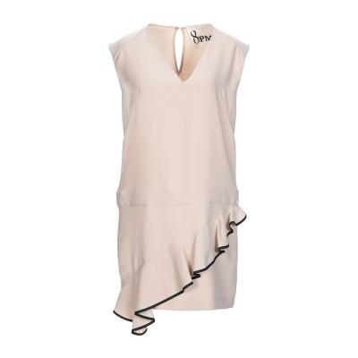 8PM ミニワンピース&ドレス ピンク XXS ポリエステル 100% ミニワンピース&ドレス