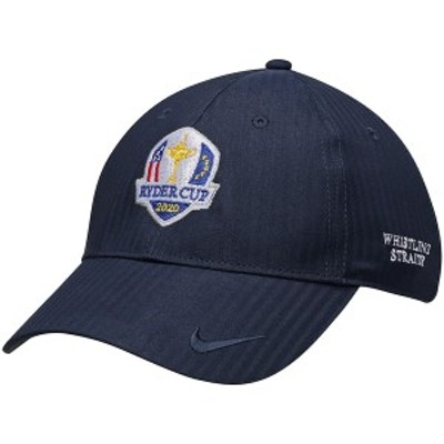 ナイキ レディース 帽子 アクセサリー 2020 Ryder Cup Nike Women's Performance H86 Adjustable Hat Navy