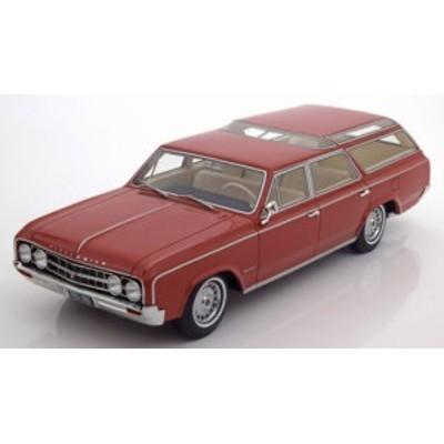 BoS Models 1:18スケール レジンモデル 1964年モデル オールズモビル ヴィスタ クルーザー ライトブラウン