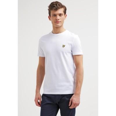 ライルアンドスコット Tシャツ メンズ トップス Basic T-shirt - white