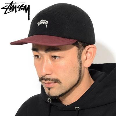 ステューシー キャップ 帽子 STUSSY Fleece Nylon Mix Camp Cap ( キャンプキャップ ストラップバック 男性用 132997 USAモデル 正規 )