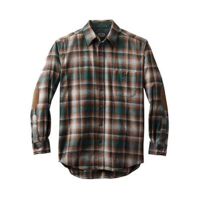 ペンドルトン Pendleton メンズ シャツ トップス Long Sleeve Trail Shirt w/ Elbow Patch Green/Grey Ombre
