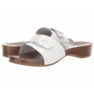 Dr. Scholls ドクターショール レディース 女性用 シューズ 靴 サンダル Its Better Original Collection White Glossy【送料無料】