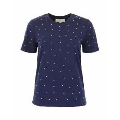 MICHAEL Michael Kors レディースその他 MICHAEL Michael Kors Studded T-shirt TRUE NAVY Blu