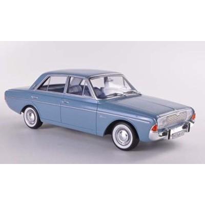 BoS 1:18 1965年モデル フォード タウナス 20M ライトブルー