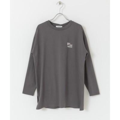 tシャツ Tシャツ BIGロゴロングTシャツ