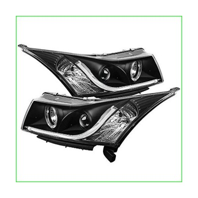 Spyder Auto 5074164 Projector Style Headlights Black/Clear