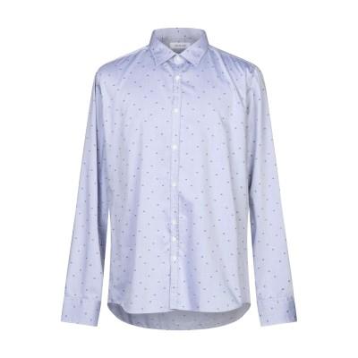 アリーニ AGLINI シャツ スカイブルー 45 コットン 100% シャツ