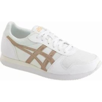 ASICS Tiger レディーススニーカー ASICS Tiger Curreo II Sneaker White/Frosted Almond