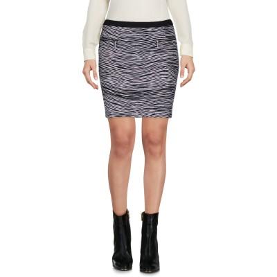 ゲス GUESS ミニスカート ブラック L ポリエステル 94% / ポリウレタン 6% ミニスカート
