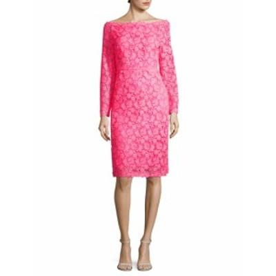 ヴァレンティノ レディース ワンピース Floral Lace Dress