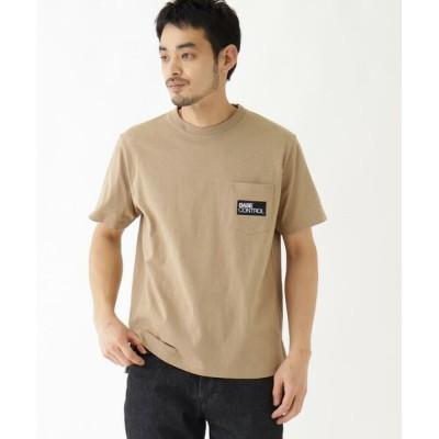 BASE STATION/ベースステーション 抗菌防臭 ロゴグラフィックバリエーション 半袖Tシャツ ベージュ(052) 04(LL)