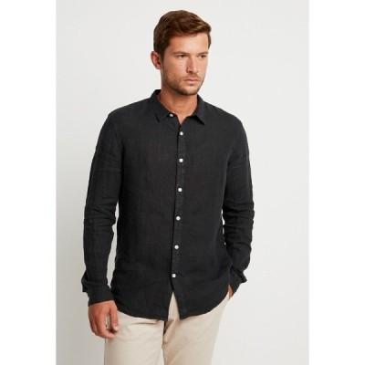 ピアワン シャツ メンズ トップス Shirt - black