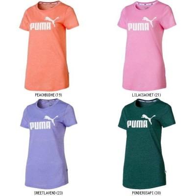 プーマ PUMA ESS+NO.1ロゴヘザーSSTシ 853869 マルチSPハンソデTシャツ