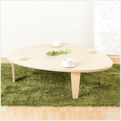 バーチ材 ローテーブル センターテーブル リビング テーブル kevin (ケビン) 120cm カフェ テーブル 木製 ナチュラル / 木製 / ちゃぶ台 / 新生活 / 1人暮らし